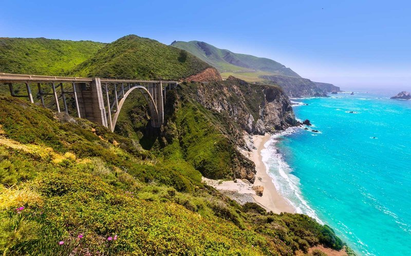 Bixby Bridge just opened on Highway 1 in Big Sur, CA. I've done parts of this drive on my own BY MYSELF feeling like crap because I could never share it with my family. Next week, I get the chance!