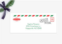 Editable Envelope From Santa