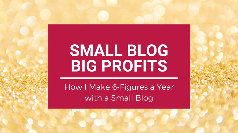 Small Blog Big Profits - Do Bloggers Really Make 6-Figures a Year Blogging for Profit
