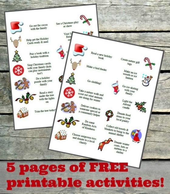 Get Your FREE Advent Activities Delivered To Inbox