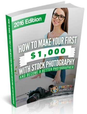Free Stock Photography eBook How to make your first $1,000