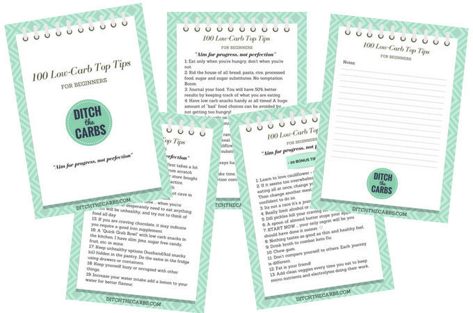 Top low carb books ditch the carbs as a newsletter subscriber bonus you receive my 100 low carb top tips for beginners ebook youll get tips guides support discounts and be part of my fandeluxe Images
