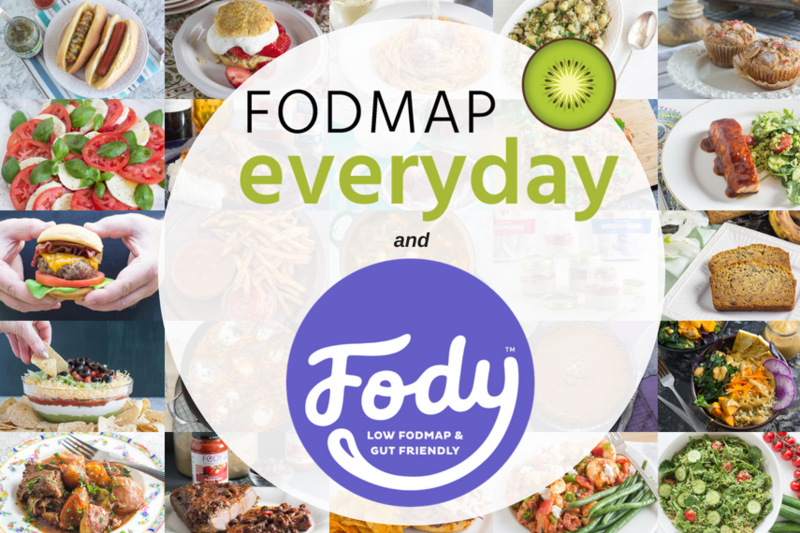 FODMAP Everyday and Fody Foods make a great team!
