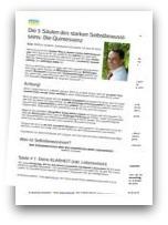 PDF-Dokument: Die 5 Säulen deines starken Selbstbewusstseins