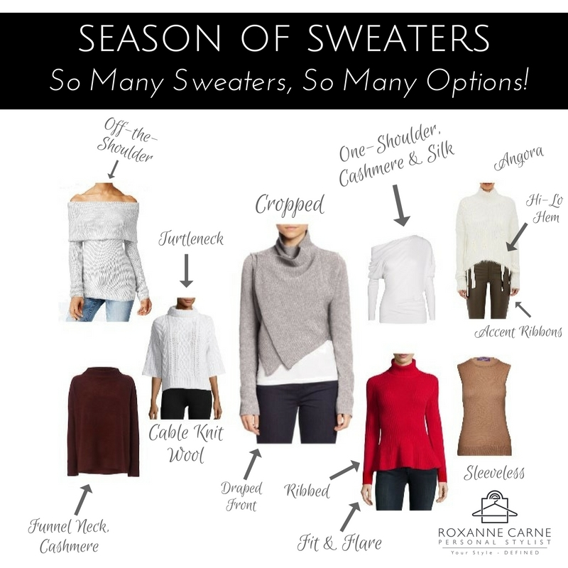 Many Sweaters, Many Options