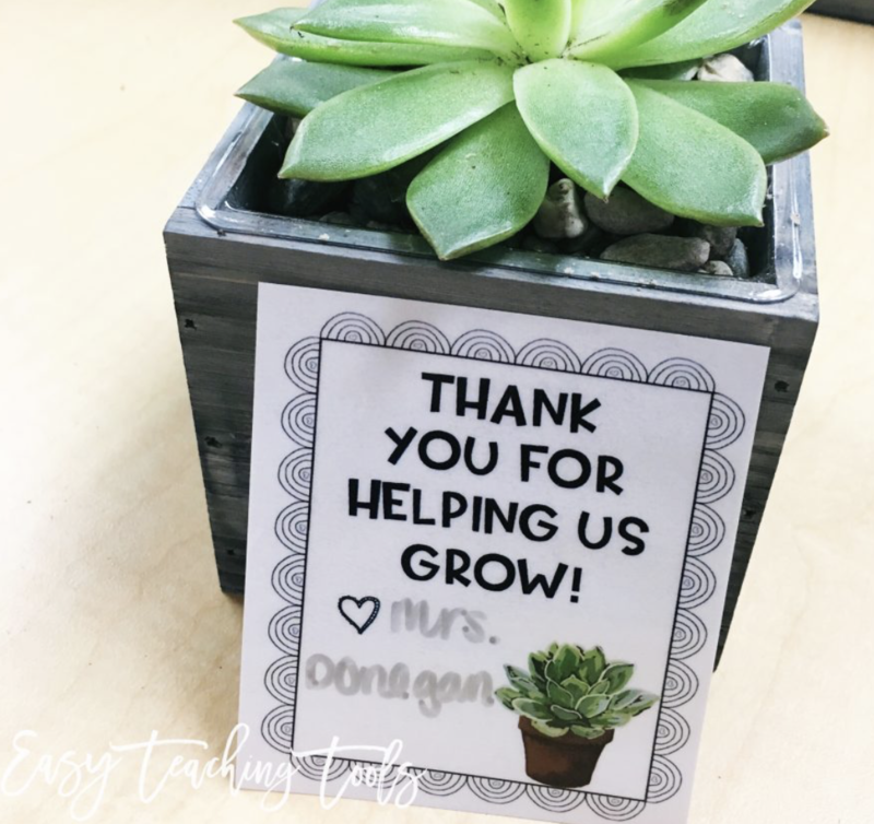 As we get closer to the end of the school year, I like to thank my parent volunteers who come in on a weekly basis. These gifts also work well for your coworkers, custodians, and office staff, too and won't break the bank.