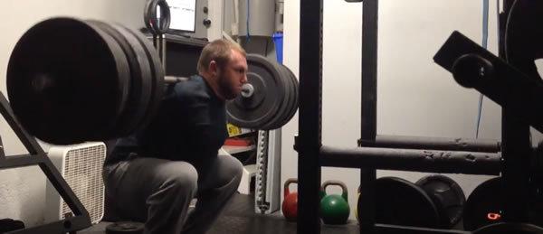 Photo: Adam Wathan lifting weights ?