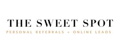 the sweet spot - personal referrals + online leads