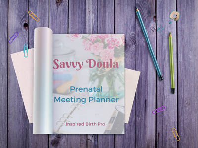 Prenatal Meeting Planner 40% Discount: MAY31