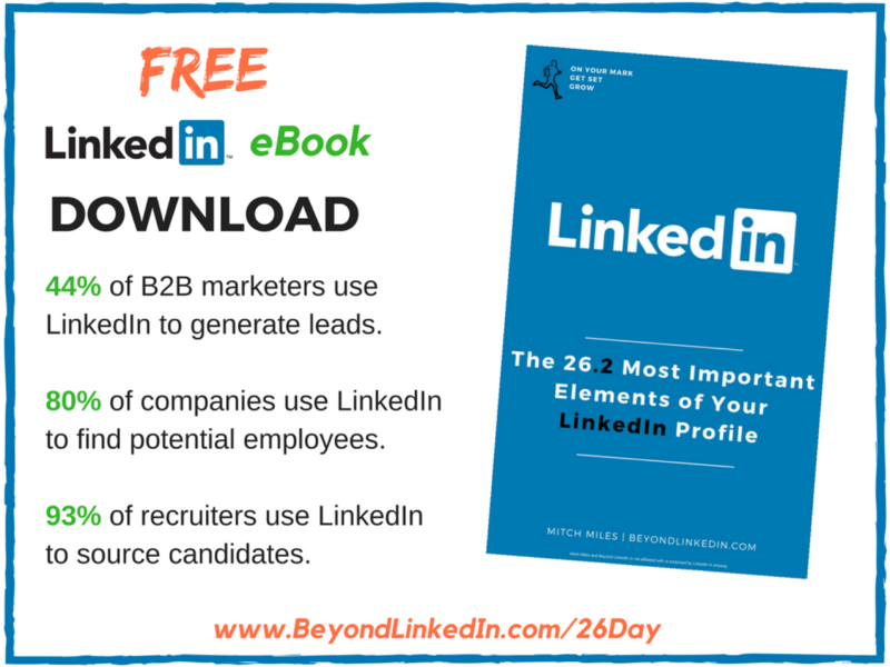26.2 Most Important Elements of Your LinkedIn Profile