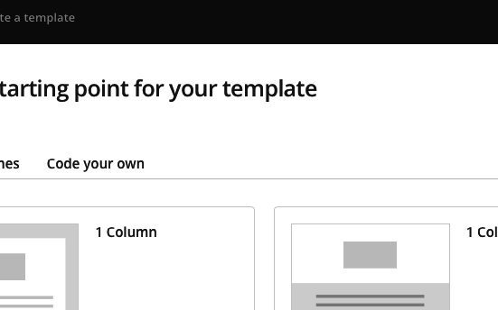 MailChimp Template Raise Your Support With Confidence - Code your own mailchimp template