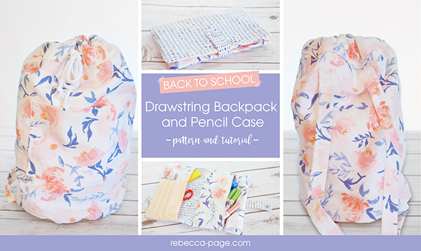 New Pattern Release - Back to School Sewing Patterns - Rebecca Page