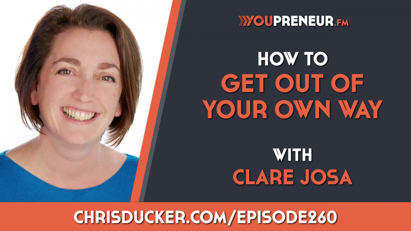 How to handle entrepreneurial self-doubt with Clare Josa and Chris Ducker