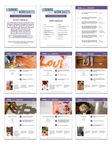 Download the PDF with all the activities.