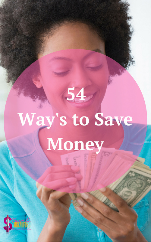 54 Way's To Save Money