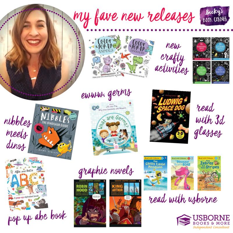 new releases usborne books