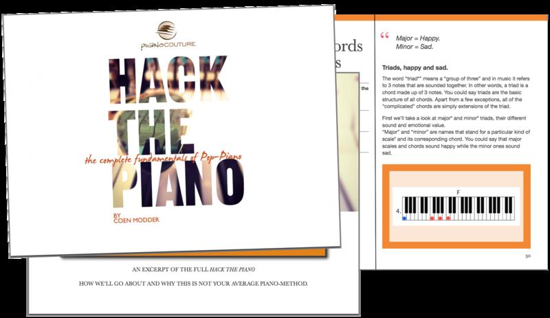 Hack The Piano The Core Piano Method