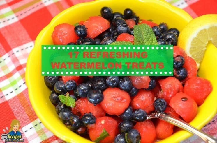 17 Refreshing watermelon treats