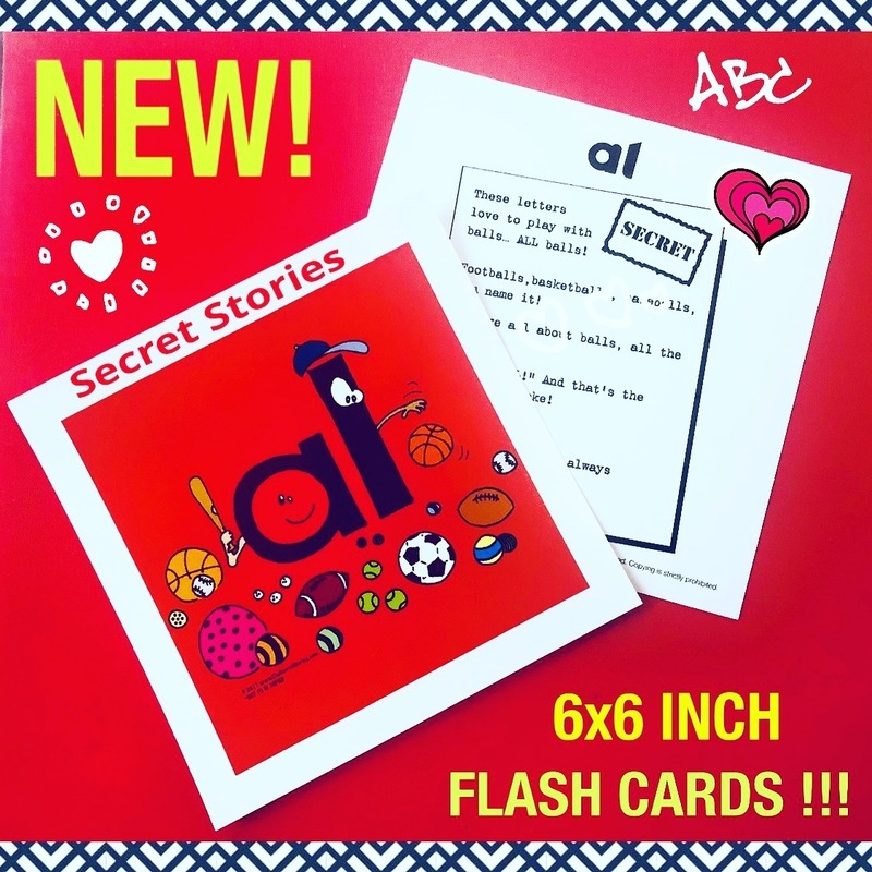 Secret Stories® Flashcards with Stories on the Back!