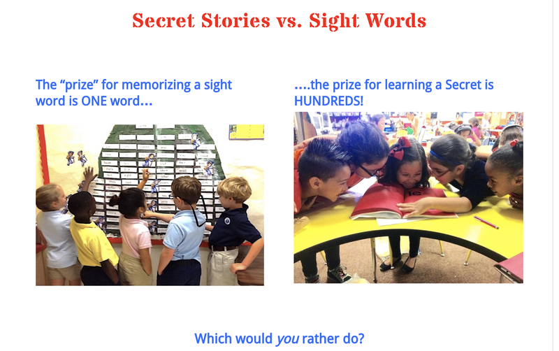 Secret Stories® Phonics vs. Sight Words