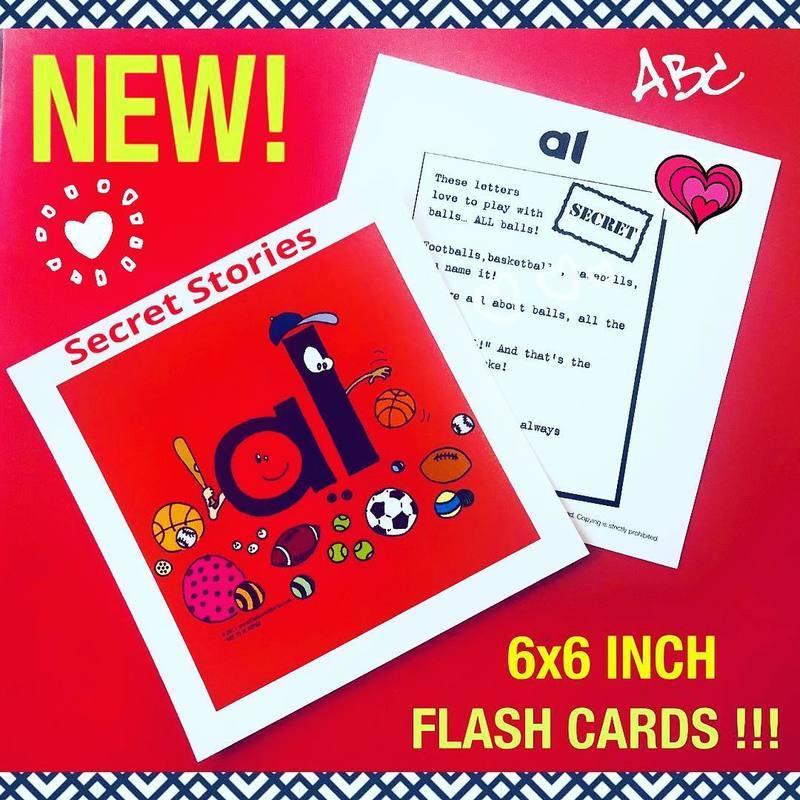 Secret Stories Phonics Flash Cards