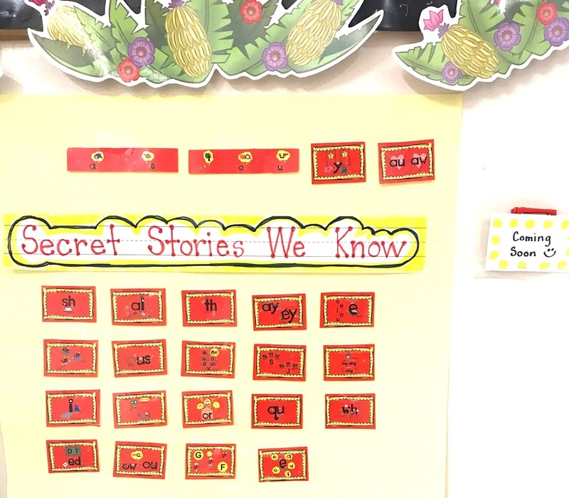 Secret Stories Phonics Secrets that We Know