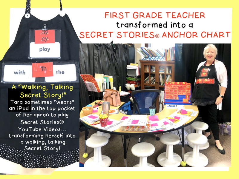 Secret Stories Phonics Instruction with Journeys Reading Program