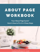 About Page Workbook
