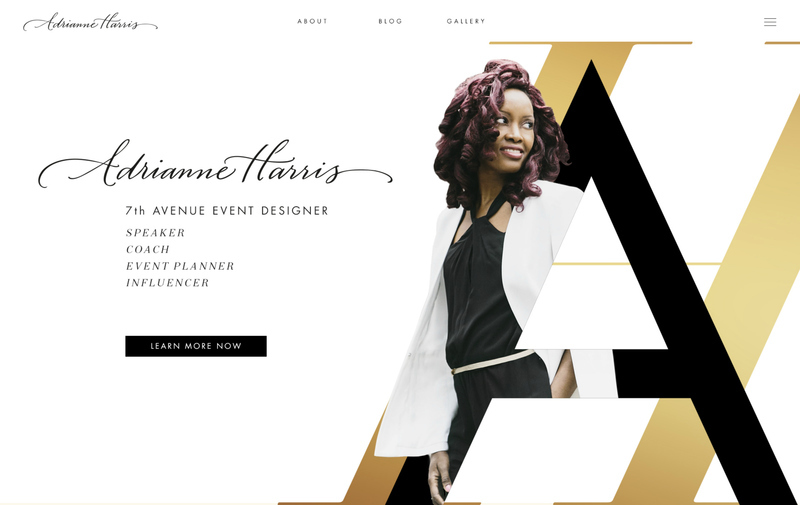 Adrianne Harris Home Page