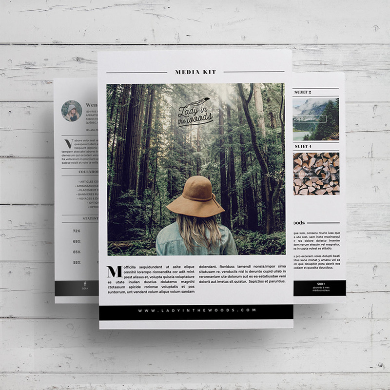 kit média pour blogueuses