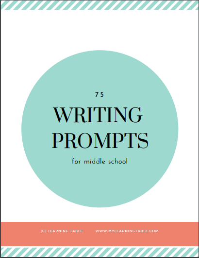 creative writing prompts for middle school Middle school writing prompts your middle level writer are usually the most creative.