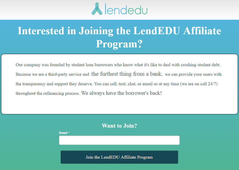 LendEDU Affiliate Instructions (please enable images to view this image)