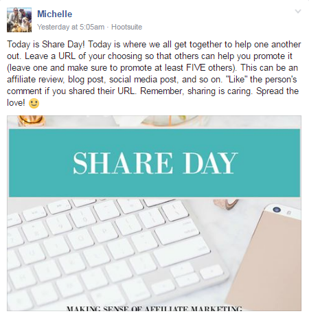Share Day (please enable images to view this image)