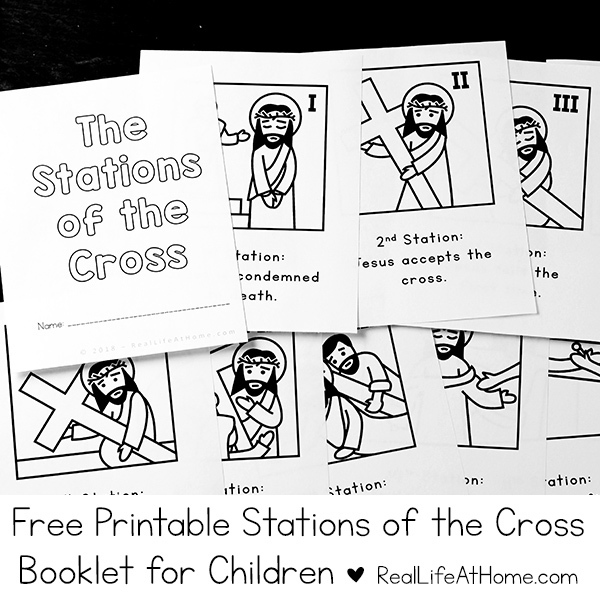 Stations of the Cross Mini Booklet (Regular Weekly List)