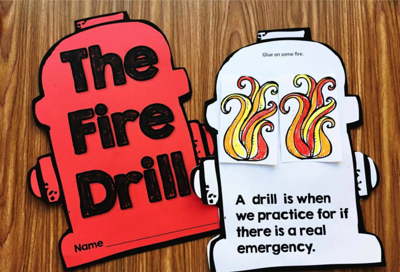 Maybe You Will Have A Fire Drill This Week Our Book Is PERFECT To Talk About Drills Its All Age Appropriate Concepts Interactive