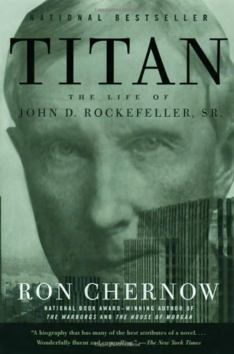 image of the non-travel book called Titan by Ron Chernow