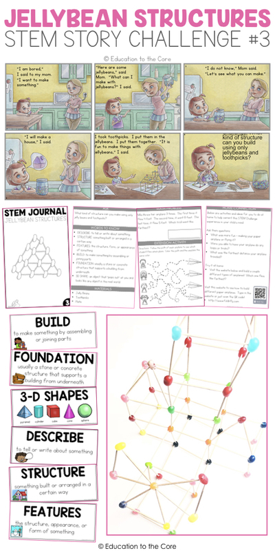 Jellybean Structures Stem Story Challenge