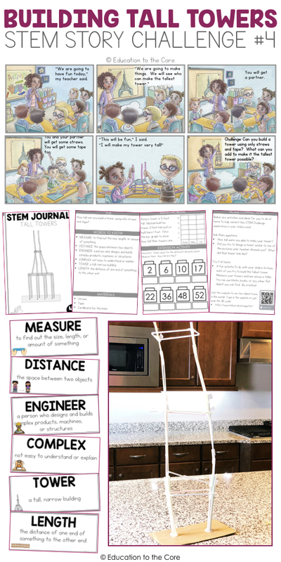 Building Tall Towers Stem Story Challenge