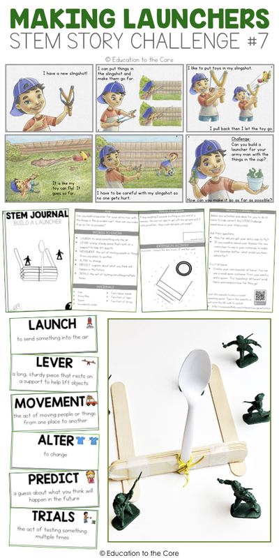 Making Launchers Stem Story Challenge