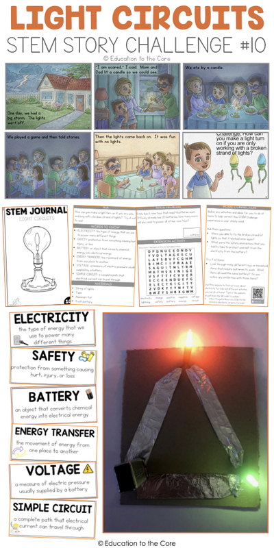 Light Circuits Stem Story Challenge