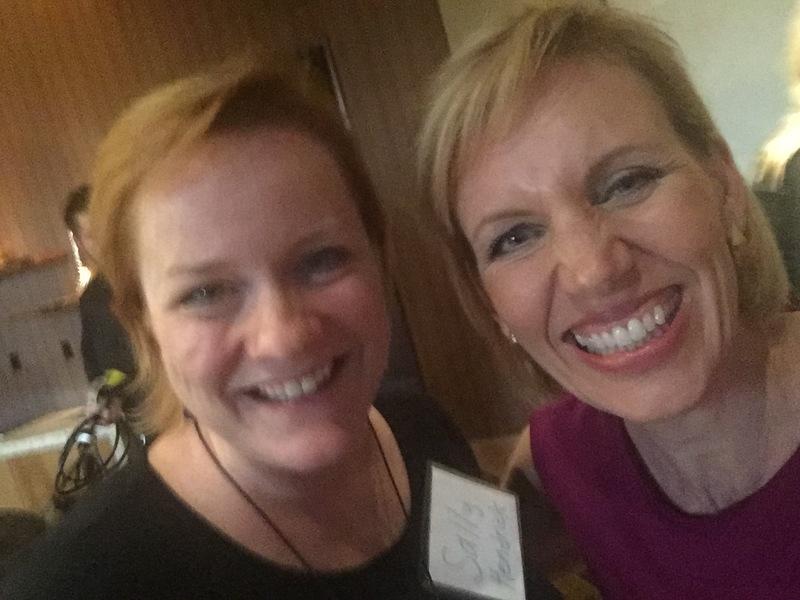Mari Smith Queen of Facebook Sally Hendrick Social Media Traffic School Business Boutique