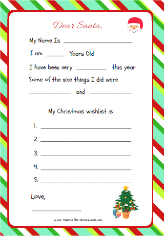 Where can you eat christmas lunch in brisbane mums of brisbane we have a letter to santa for every writing ability from the little kids to older ones its the family sorted spiritdancerdesigns Images