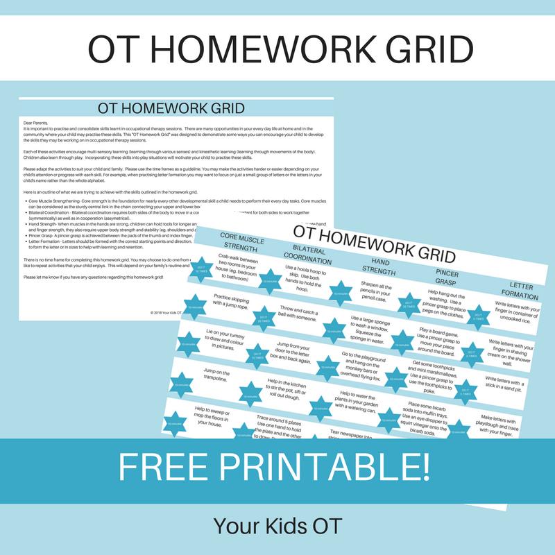 Your Kids OT - Your Kids OT blog