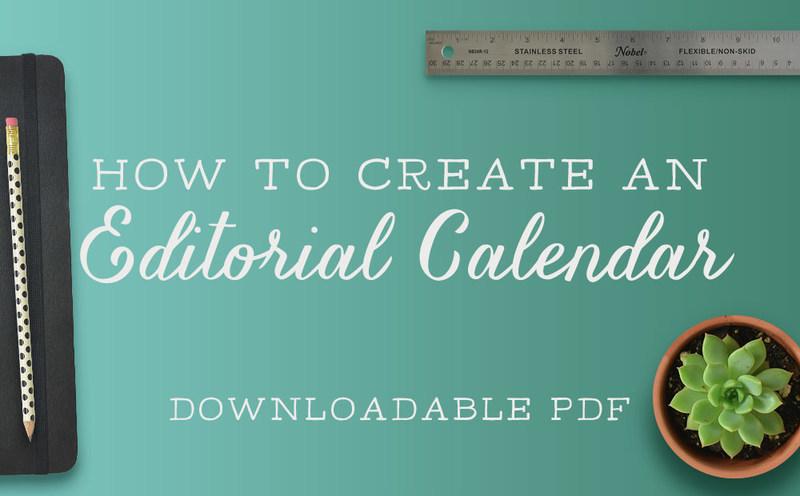 Free Resource: How to Create an Editorial Calendar, Aeolidia
