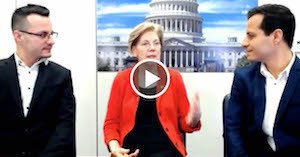 Elizabeth Warren interview