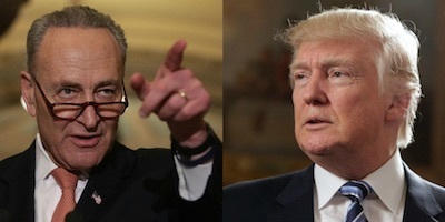 schumer and trump