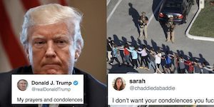 Student who survived Florida school shooting just went viral with brutal attack on Trump