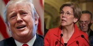 Wrren and Trump
