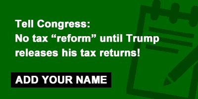 petition trump tax scam