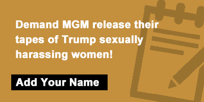 MGM release tapes of Trump's sexual misconduct